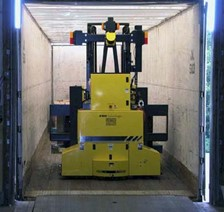 Load Trailers Automatically with Guided Vehicle System