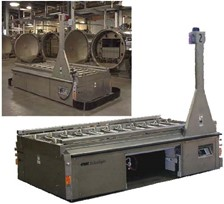 Guided Vehicle System Automates Food Processing Application