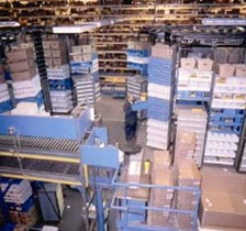 PARTS DISTRIBUTION CENTER USES HORIZONTAL CAROUSELS TO INCREASE THROUGHPUT BY 344%