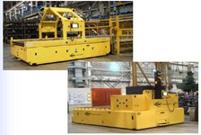 Heavy Duty Automatic Guided Vehicles Maximize Material Flow in Major Auto Manufacturing Facility