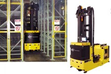 Automatic Guided Vehicle System Increases Floor Space and Storage Capacity
