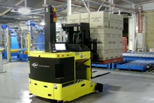 Dual Load Handling Automatic Guided Vehicle Reduces Costs and Improves Efficiency