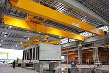 Konecranes PD Cranes and Turnkey Steel Runway Selected by Innovative Precast Concrete Manufacturer