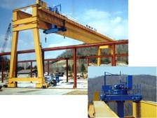 EMH Gantry Simplifies Loading of Large Concrete Panels