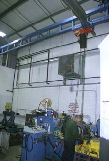 Experienced Customer Chooses Work Station Cranes Over I-Beam Cranes