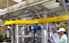 Demag KBK Enclosed Track Monorail Provides the Best Solution