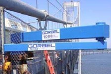 Articulating Jib Assists With Bridge Maintenance