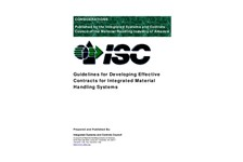 Guidelines for Developing Effective Contracts for  Integrated  Material Handling  Systems
