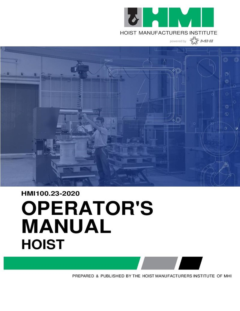 Hoist Operators Manual