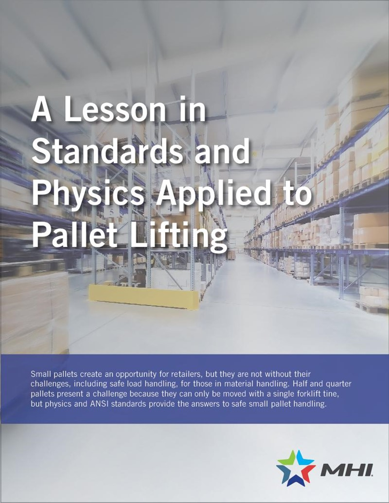 A Lesson in Standards and Physics Applied to Pallet Lifting