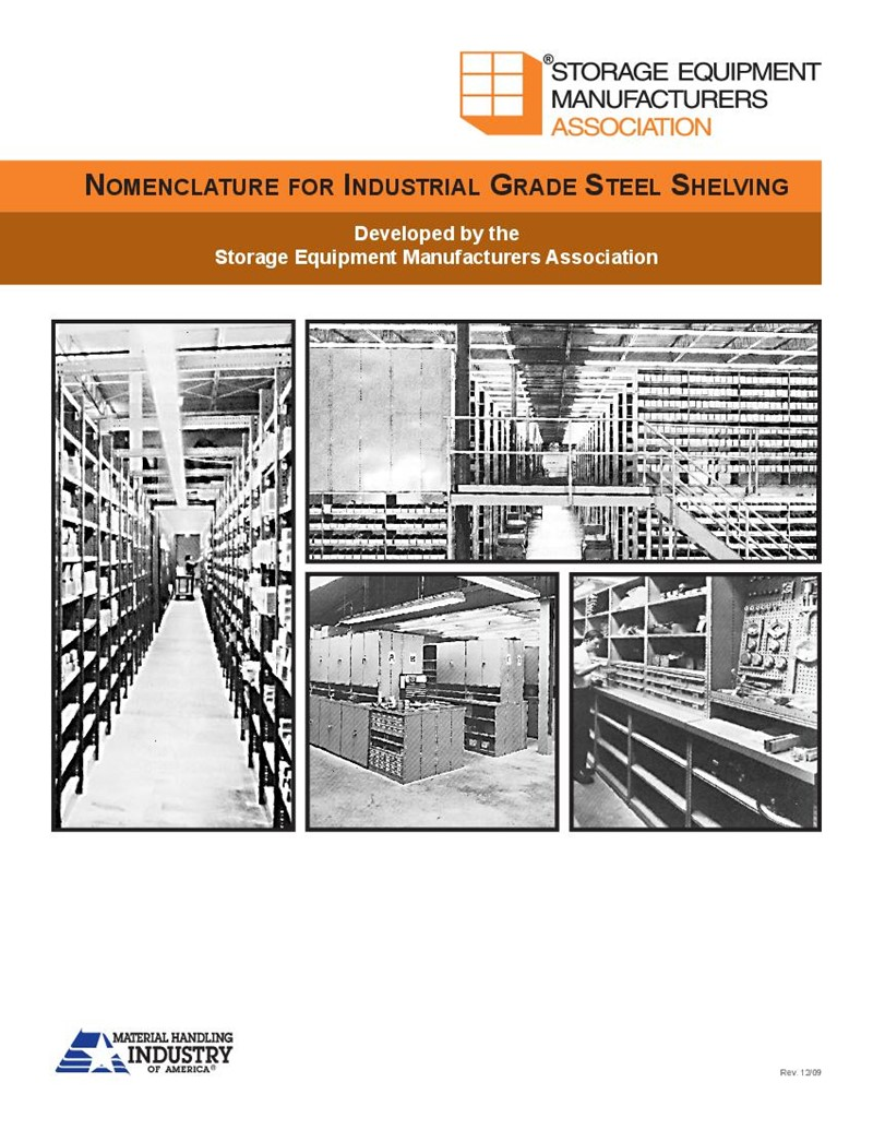 Nomenclature For Industrial Grade Steel Shelving