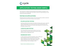 Testing Supply Chain Execution Applications