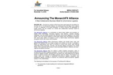 Announcing The MonarchFX Alliance