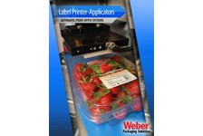 Weber Label Printer Applicators