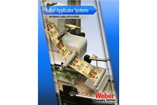 Weber Label Applicators Brochure