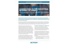 Altran Insight on Connecting to the IIoT