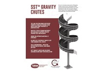 SST™ Gravity Chute Cut Sheet