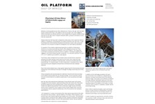 Off Shore Oil Platform and PFlow M Series