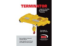 Terminator Hoist Brochure - Low Headroom
