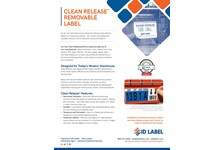 Clean Release™ Removable Warehouse Label