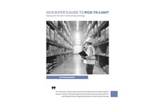 2019 Buyer's Guide to Pick-to-Light