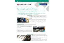 Xpress Label Applicator Modules Brochure