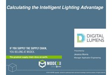 Calculating the Intelligent Lighting Advantage