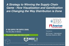 A Strategy to Winning the Supply Chain Game - How Visualization and Gamification are Changing the Way Distribution is Done