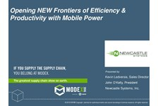 Eliminate Costly Waste in the Warehouse with Mobile Power Technology