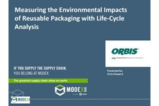 Measuring the Environmental Impacts of Reusable Packaging with Life-Cycle Analysis