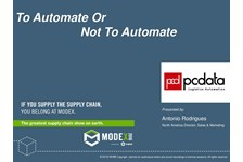 To Automate or Not To Automate