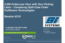 Picking 4,200 Orders per Hour with Zero Picking Labor - Comparing Split-Case Order Fulfillment Technologies