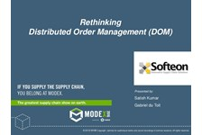 Rethinking Distributed Order Management (DOM)