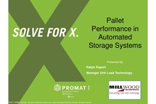 Pallet Performance in Automated Storage Systems