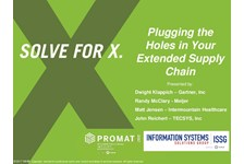 ISSG of MHI Presents: PLUGGING THE HOLES IN YOUR EXTENDED SUPPLY CHAIN