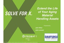 Extend the Life of Your Aging Material Handling Assets
