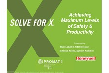 Achieving Maximum Levels of Safety & Productivity