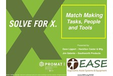 EASE of MHI Presents: Match Making - Tasks, People and Tools