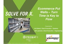 Ecommerce Put Walls - Turn Time is Key to Flow