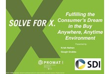 Fulfilling the Consumer's Dream in the Buy Anywhere, Anytime Environment