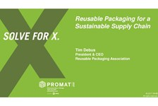 Reusable Packaging for a Sustainable Supply Chain