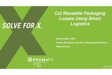 Cut Reusable Packaging Losses Using Smart Logistics