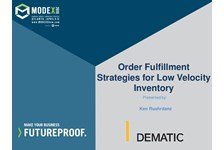 Order Fulfillment Strategies for Low Velocity Inventory