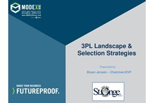 3PL Landscape & Selection Strategies