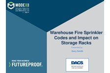 Warehouse Fire Sprinkler Codes and Impact on Storage Racks