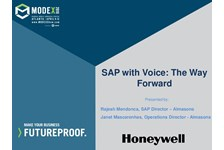 SAP with Voice: The Way Forward