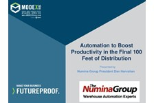 Automation to Boost Productivity in the Final 100 Feet of Distribution