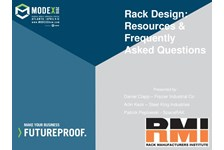 RMI of MHI Presents: Rack Design: Resources and Frequently Asked Questions