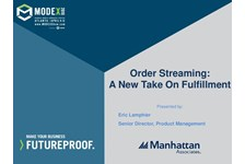 Order Streaming: A New Take on Fulfillment