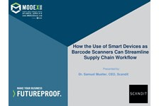 How the Use of  Smart Devices as Barcode Scanners Can Streamline Supply Chain Workflow